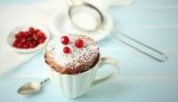 5 Dakikada Fincanda Kek Yapılışı