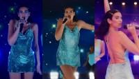 Dua Lipa 2020 Amerikan Müzik Ödülleri Stili