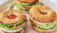 Kahvaltılık Simit Sandviç Nasıl Yapılır?