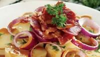 Pastırmalı Salata Yapılışı