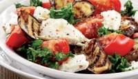 Patlıcanlı Yaz Salatası Tarifi