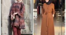 Kış Sezonun En Göz Alıcı Tesettür Giyim Modelleri